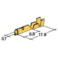 konektor samice D4mm