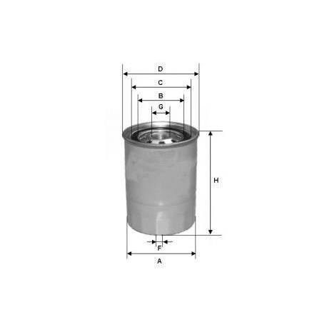 palivový filtr CLE DN-811 / CLEAN /
