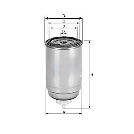 palivový filtr / UFI /