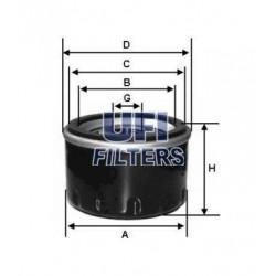 olejový filtr / UFI / SP 935 ,FRAM PH 4722