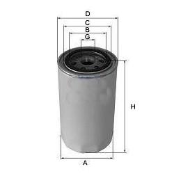 olejový filtr , H14W08