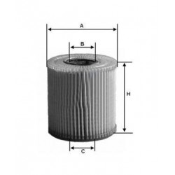 olejový filtr ML-485 , MD 279,