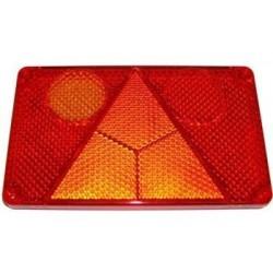 """kryt lampy W21 """" L"""" s trojúhelníkem"""