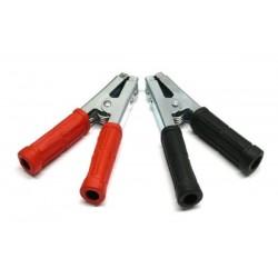 kleště bateriové 600A / černá + červená / 2ks