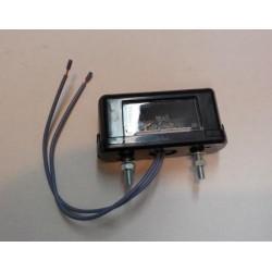 osvětlení SPZ boční W52 žárovka, 2 šrouby
