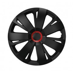 "poklice ENERGY RC 16"" BLACK + RED ring"