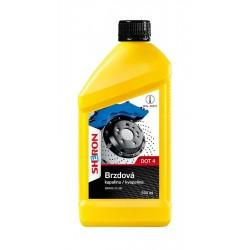 brzdová kapalina DOT 4 0,5L SHERON