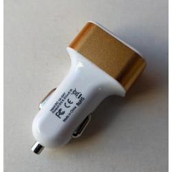 zástrčka USB 3x, 12/24V, 4,8-5,3V, 1A + 2A + 2,1A