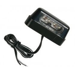 osvětlení SPZ 4x LED 12V na moto LUCE TARGA