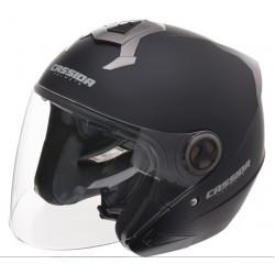přilba moto Magnum, CASSIDA - ČR (černá matná)