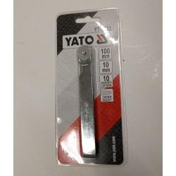 měrky spárové, ventilové 0,05-0,5 mm 10 plátků