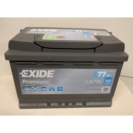 autobaterie EXIDE 12V / 77Ah, EN 760A Premium