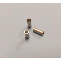 trubičková koncovka kabelu 1,0mm , pájecí