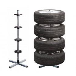 stojan pro čtyři pneumatiky tyčový