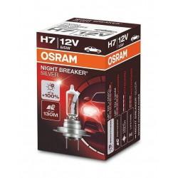 žárovka 12V H7 55W ,Osram - +100% NIGHT BREAKER