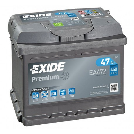 autobaterie EXIDE 12V / 47Ah, EN 450A Premium