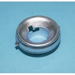 objímka žárovky Ba20d, kovová miska