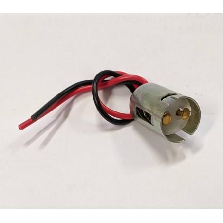patice na žárovku 21/5W , BAY15d kov. s kabelem