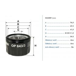 Olejovy filtr / MEYLE, FEBI /